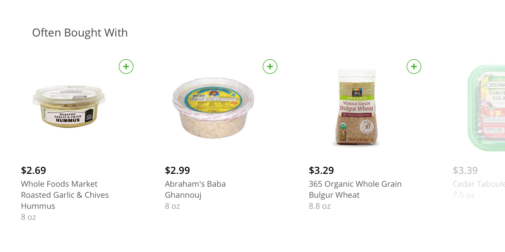 Pointwise Mutual Information for Instacart Product Recommendations